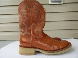 s justin boots size 12 justin tekno crepe boots size 12 ee ostrich brown 5006