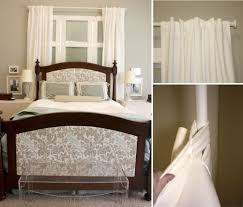 Curtains For Headboard Gus U0026 Lula Tab Top Curtains Three Ways