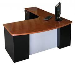 furniture office l shaped office desk glass top modern elegant