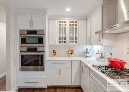kitchen cabinets with gold hardware white shaker kitchen with gold accents norfolk kitchen bath