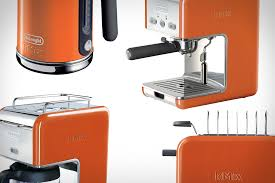 Orange Kettle And Toaster Oxo Anniversary Edition Uplift Tea Kettle Uncrate