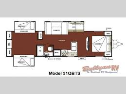 Rear Kitchen Rv Floor Plans by New 2013 Forest River Rv Wildwood 31qbts Travel Trailer At Bullyan