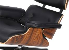 Eames Leather Lounge Chair Amazon Com