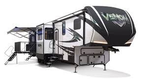 Big Country 5th Wheel Floor Plans Venom V4113tk Luxury Fifth Wheel Toy Hauler K Z Rv