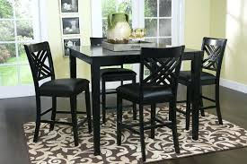 black counter height table set black counter height table set bar dining best gallery of tables