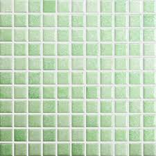 aliexpress com buy green square ceramic mosaic tile kitchen