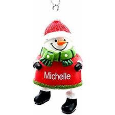 ganz personalized jingle bell snowman