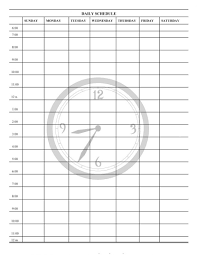 40 printable daily planner templates free template lab work plan