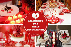 day table decorations 51 adorable valentines day table decorations homeoholic
