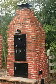 splendid design 7 homemade block smokers plans brick smoker homepeek