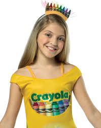 Crayon Halloween Costume Crayola Crayons Box Girls Tutu Dress Tween 10 12 Walmart