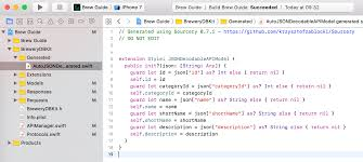 sourcery tutorial generating swift code for ios