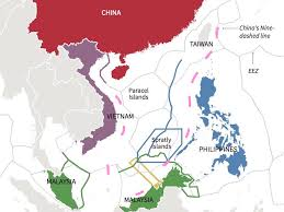 World Map Vietnam by Map Shows South China Sea Claims Business Insider