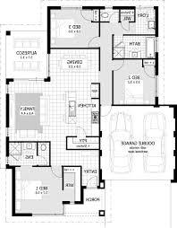 home design 79 marvelous 3 bedroom house floor planss