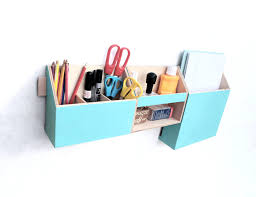 School Desk Organizers by Wood Wall Organizer Turquoise Mail Organizer Wall Hanging Mail