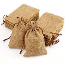 burlap wedding favor bags burlap favor bags ebay