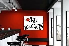 cadre deco pour cuisine deco murale cuisine design dacco murale cuisine avec mur de briques