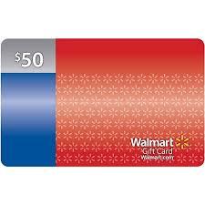 gift card 50 walmart gift card walmart
