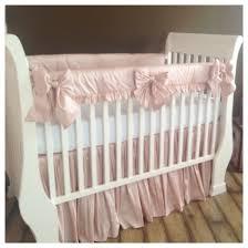 Baby Nursery Bedding Sets Neutral by Bumperless Collection Silk Crib Bedding Crib Bedding