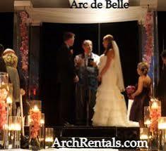 Wedding Arches Miami Acrylic Wedding Canopy Lucite Wedding Chuppah Rentals Miami South