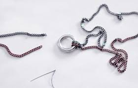 necklace chain with ring images Diy long o ring double chain necklace love maegan jpg