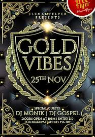 free elegant gold vibes psd flyer template download for photoshop