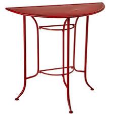 half circle accent table semi circle console table wayfair