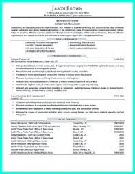 Superintendent Resume Examples by Free Resume Templates Cute Programmer Cv Template 9 With 81