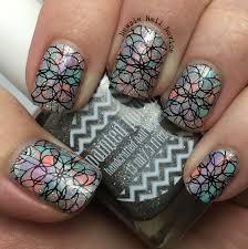 dry brush spring nail art newsie nail novice