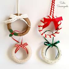 12 upcycle ornaments salvage sister and mister