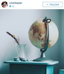 vintage globe globes in your instagram home pinterest