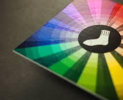 square color foil cards cardsox