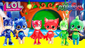 lol surprise dolls pj masks halloween costumes trouble