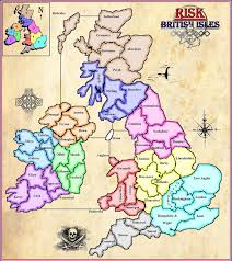 Map Of British Isles A British Isles Version Of