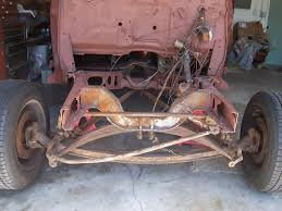 car front suspension pic of 46 48 ford car front suspension the h a m b