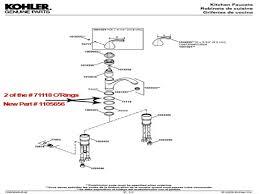 moen kitchen faucets parts diagram kohler lav faucet cartridge