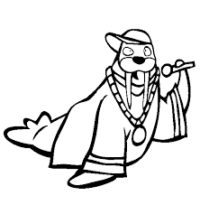 coloring page for walrus walrus coloring page animals town free walrus color sheet