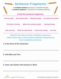 bunch ideas of fragment worksheets for high on download
