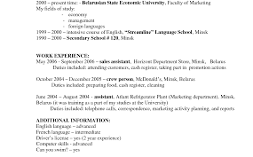 grocery clerk resume objective statement exles retail cashier responsibilities resume format sales grocery store