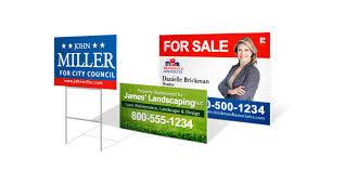custom yard signs