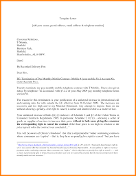 Notice Of Termination Of Employment Contract by Excellent Letter Of Job Termination Sample Template With