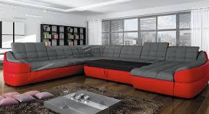 canapé d angle commandeur canapé d angle en tissu microfibre écocuir infinity xl 1 899 00