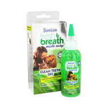 tropiclean fresh breath clean teeth gel 118ml petology com au