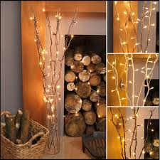 led light tree branches wooden led twig lights tree branches