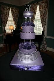 purple wedding cake cakecentral com