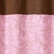 Paisley Shower Curtains Pink Paisley Shower Curtain Shower Curtain Rod
