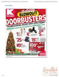 kmart black friday ad hours deals living rich with coupons