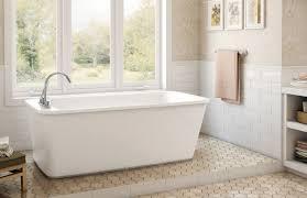 decor freestanding maax bathtubs and window treatments with