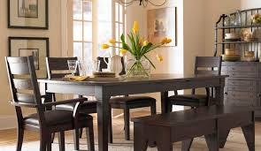 Leather Dining Room Set Bench Nelson Modern Breakfast Nook Driftwood Wonderful Leather