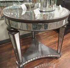antiqued mirrored coffee table foter